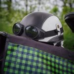 Pot helm (incl. bril)